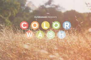 ColorWash Photoshop Actions Promo by filtergrade