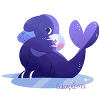 Popplio by colorprismita