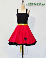 mister mouse retro style dress by Lameasaurus-etsy