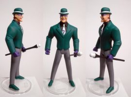 Riddler JLU Suit Style Custom Figure by GeekVarietyDotCom