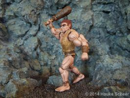 Caveman 3D printed Action Figure painted 04 by hauke3000