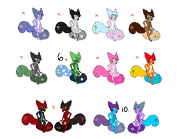 Twin Tailmouth Adoptable Sheet 1 CLOSED by FrostingDecks
