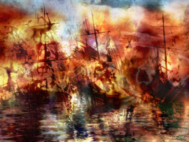 The Lost Armada V by raysheaf