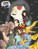 Legend of Korra: Looking Back by Zeri-Saru