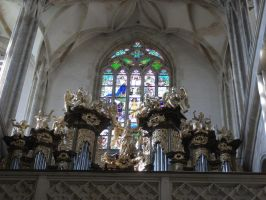 organ of St. Barbora by LilDash