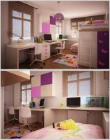 Children Room2 by Murataral