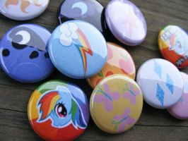 MLP: FiM Assortment by papelshop