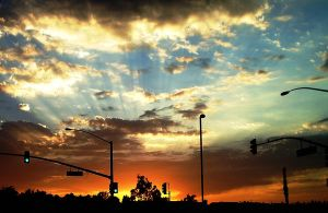 Chino Hills Sunset by delinea84