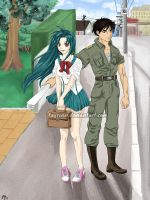 [Full Metal Panic] With This Harisen... by fayrinn