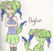 Payton The Poiseon by AlyssaThePikachu