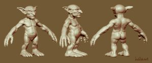 WoW goblin sculpt by haikai13