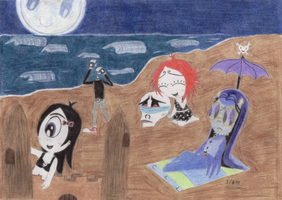 Somber Vacation by Catula