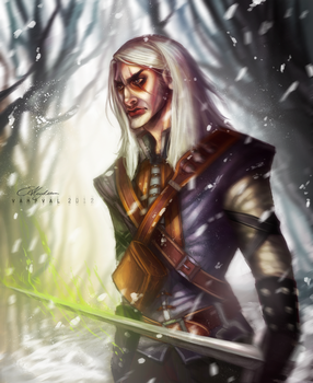 Geralt of Rivia by Vampval