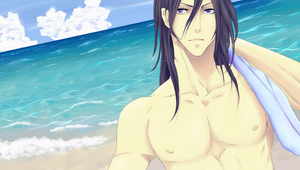 Byakuya- Summer Time by nikea777