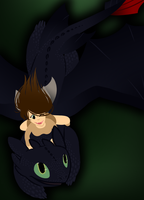 Sage And Toothless by Origamigirl1223