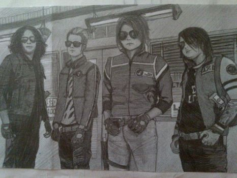 MCR Killjoys by ycul99
