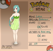 ::PV:: Lotus Bulbasaur by Seigana
