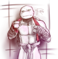 TMNT - Suddenly, Raph by NinjaTertel