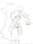 9h, hey Karkat. by tawnyshine
