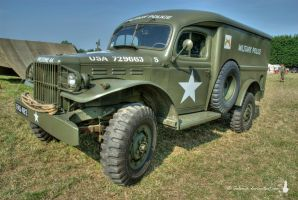 US Military Police Truck by Salemik
