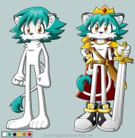 Leo Braveheart Reference by SonicPikapal