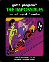 Impossibles Atari Game Label by FluidGirl82