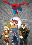 ThunderCats - Spiderman Crossover Cover by Gojihunter31