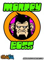 895graphics monkey boss by 895graphics