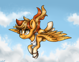 [Commission] Serenity (+speed paint) by GaelleDragons