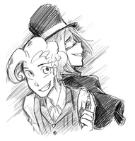 Dr Berry and Mr Bubble by Annie-Aya