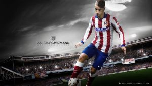 Antoine Griezmann Wallpaper 2014/15 by AlbertGFX