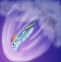 The Sonic Rainboom by CommyPink
