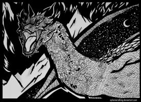 Smaug the Magnificent by EphemeralKing