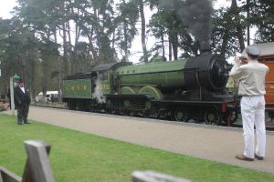 More of the B12 at Holt Station by captain89