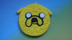 Adventure Time Oreo Cookie Pendant by FierceNFabulous