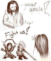 Uncle Thorin by Arvensias