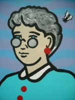 Woman and Fly I Wish Book by chrispjones