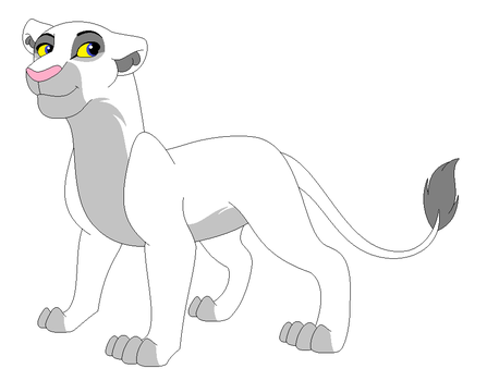 Lioness Lineart 3 by hapadopts