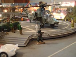 Eurocopter Tiger attack helicopter by Krulos