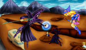 Conflict! A Misunderstanding! by vikon
