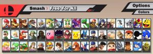Super Smash Bros. 3DS / Wii U - Fake Roster by SuperYaridovich999