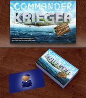 Commander Krieger Business Card by JonasForTheArt
