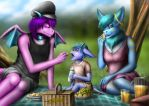 Picnic in Family by sannamy