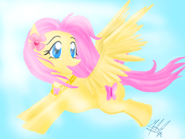 Fluttershy My Little Ponny by SailorBomber