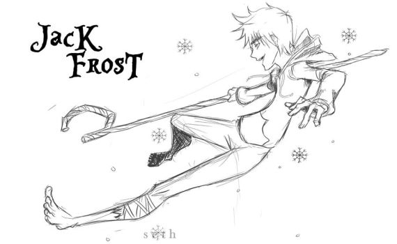 Jack Frost from Rise of the Guardians #2 by SethKuroiHuke