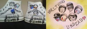 Hollywood Undead Shoes by GothicRaincloud