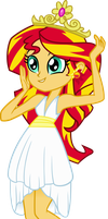 Sunset's First Crown by MillennialDan