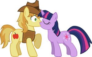 AT - Braeburn x Twilight by LudiculousPegasus