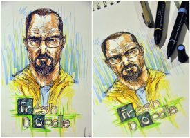 Breaking Bad for 2014 by thefreshdoodle