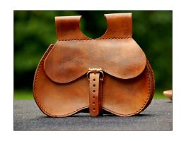 Medieval bollock pouch by StuartLohe